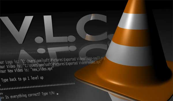 Adding Logo to a Video in VLC Player using Command Line